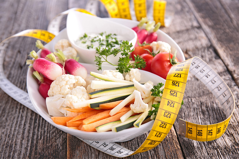 andando piano di dieta vegana