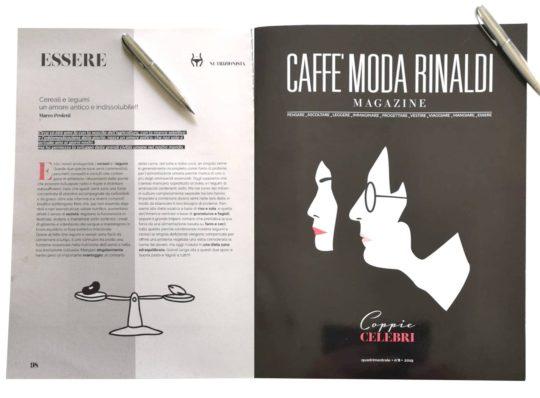 Articolo sulla Rivista Caffè Moda Rinaldi